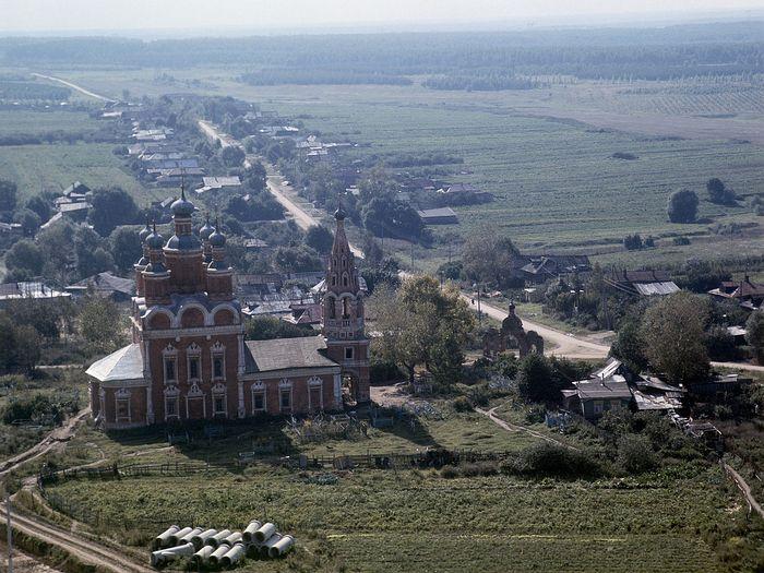 Храм Архангела Михаила в Тропареве. 1971 год