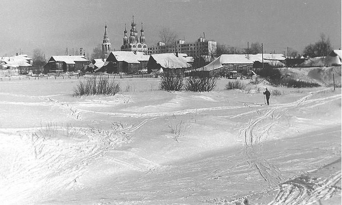 Храм Архангела Михаила в Тропареве. 1972 год