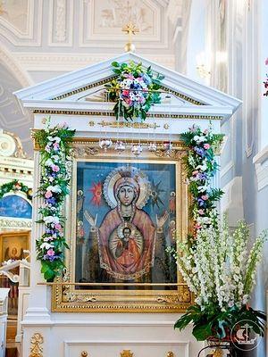 Икона Божией Матери «Знамение» Царскосельская в храме Иоанна Богослова СПбДА