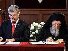 Poroshenko promised Constantinople property in exchange for tomos of autocephaly