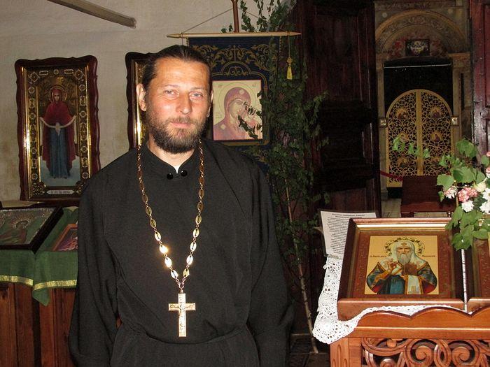 Священник Сергий Ермолаев