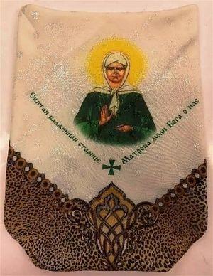 Женский головной платок «Святая Матрона»