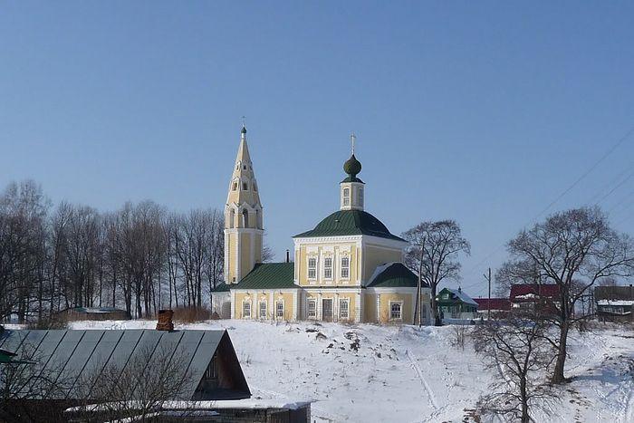 Храм Святой Живоначальной Троицы г. Тутаева