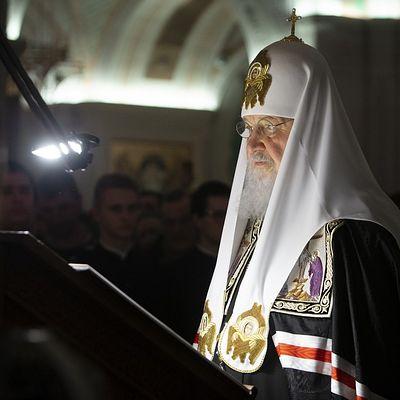 Патриаршее служение в четверг первой седмицы Великого поста в Сретенском монастыре