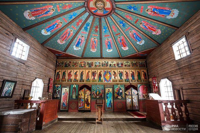 Уређење Илинске цркве.