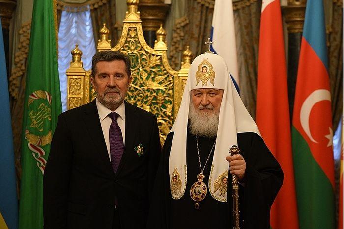 Посол Сербии награжден орденом Русской Православной Церкви