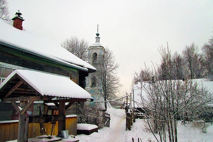 Зимой в Жарках