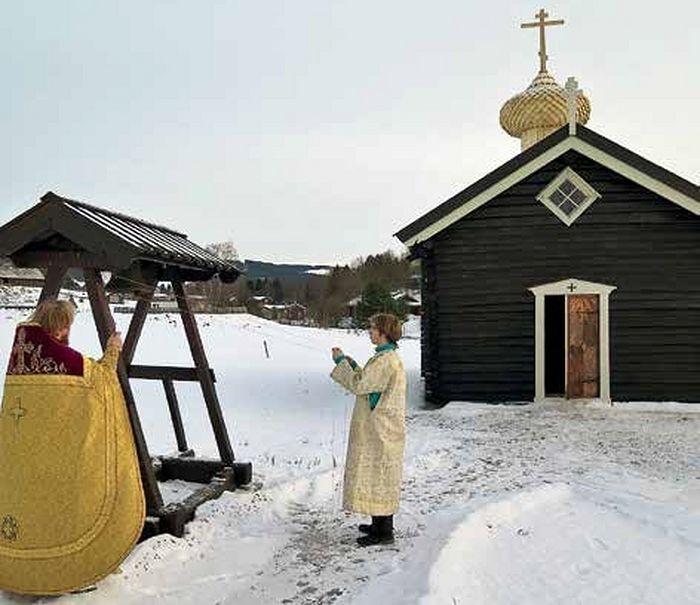 Храм Русской Православной Церкви в честь св. Олафа Норвежского в Стиклестаде