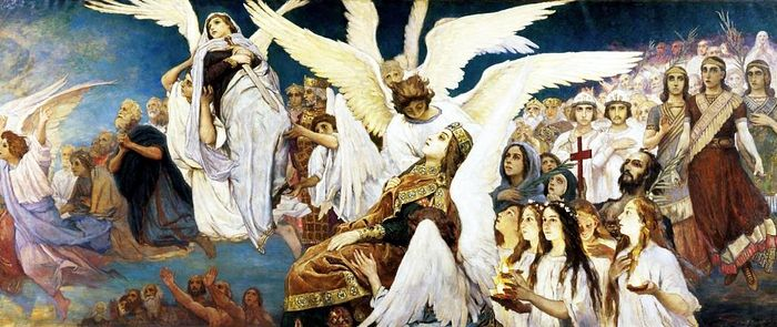 Victor Vasnetsov, Rejoice in the Lord, O ye Righteous