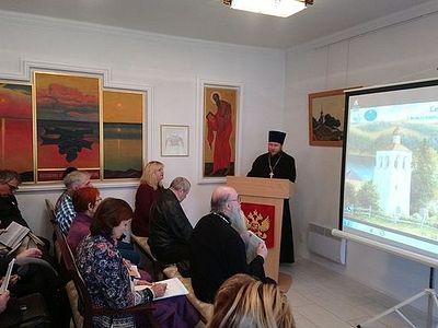 Священники Псковской епархии выступили с докладами на научно-практической конференции «Сельские храмы. Незабытое» в Изборске