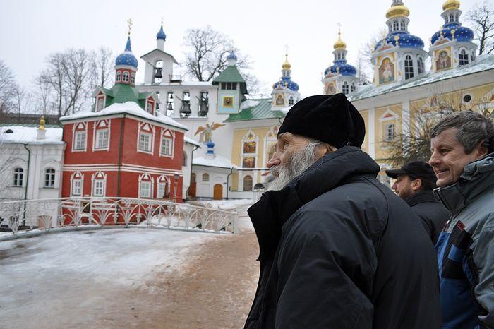 Схиархимандрит Илий в Псково-Печерском монастыре