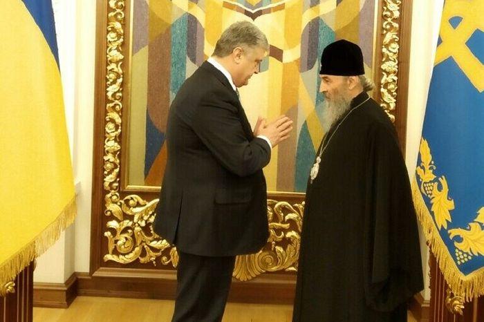 Блаженнейший Митрополит Онуфрий Президенту Петру Порошенко: «Это не тот путь, который приведет нас к единству»