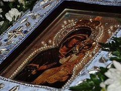 Miraculous Healing of the Custodian of the Myrrh-Streaming Hawaiian Iveron Icon of the Mother of God