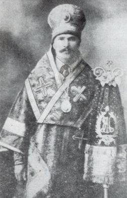 "The third First Hierarch of the UAOC-L, ""Metropolitan"" Ivan Pavlovsky, 1930s"