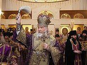 Предстоятель Русской Церкви освятил московский храм Александра Невского в Александровке