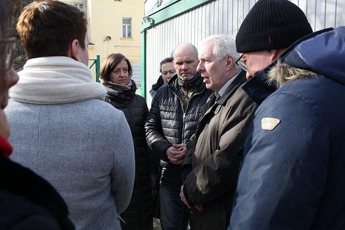 Делегация Палаты депутатов Берлина посетила «Ангар спасения» службы «Милосердие»