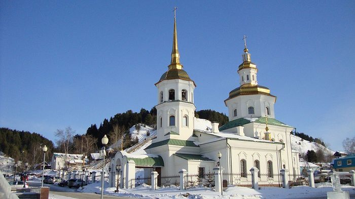 Покровский храм Ханты-Мансийска