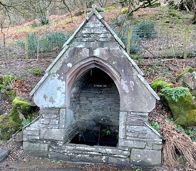 St. Patrick's well in Patterdale, Cumbria (kindly provided by the parish in Patterdale)