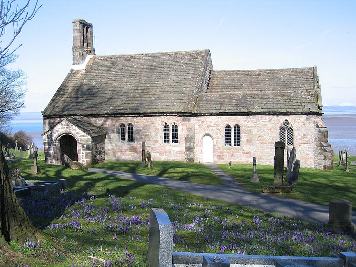 St. Peter's Church, Heysham, Lancs (kindly provided by St. Peter's parish in Heysham)