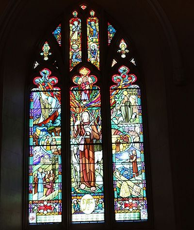 The 'Millennium Window' at Anglican St. Patrick's Cathedral in Armagh (kindly provided by the Dean of Armagh)