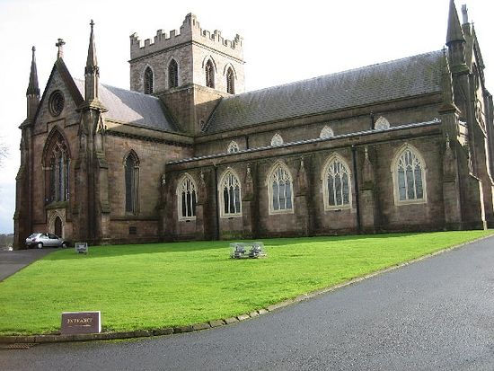St. Patrick's Anglican Cathedral in Armagh