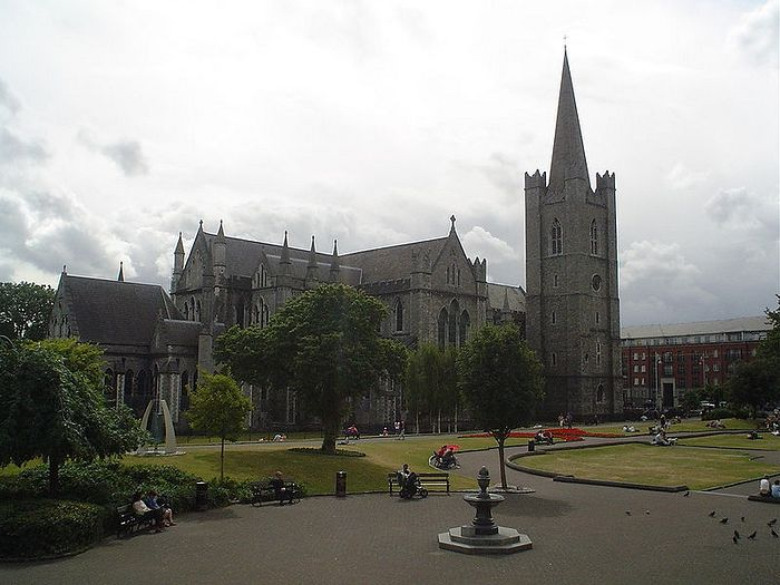 St. Patrick's Anglican Cathedral in Dublin