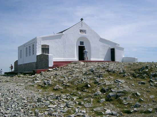 St. Patrick's Chapel on the top of Croagh Patrick