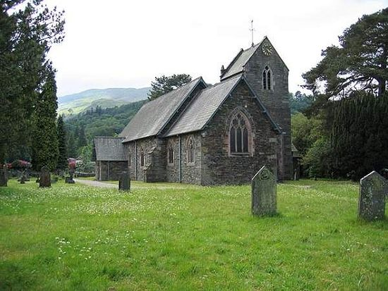 St. Patrick's Church in Patterdale, Cumbria (taken from Visitcumbria.com)