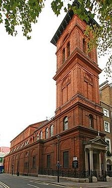 St. Patrick's RC Church in Soho, London