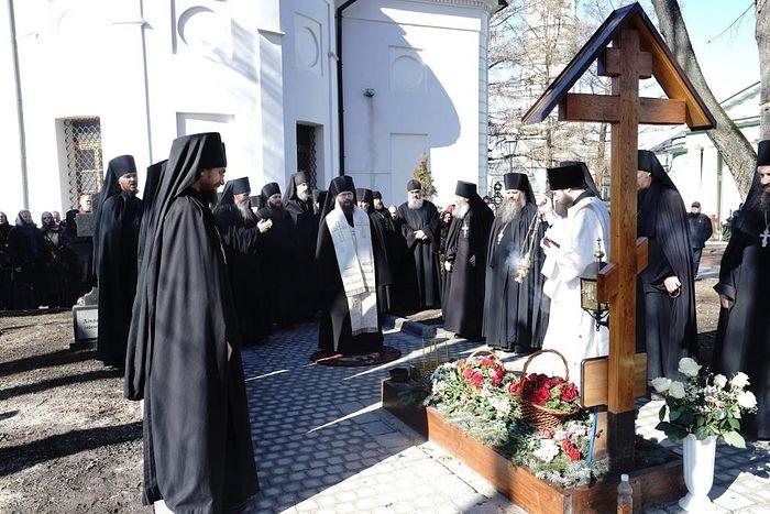 В Оптиной пустыни почтили память архимандрита Венедикта (Пенькова)