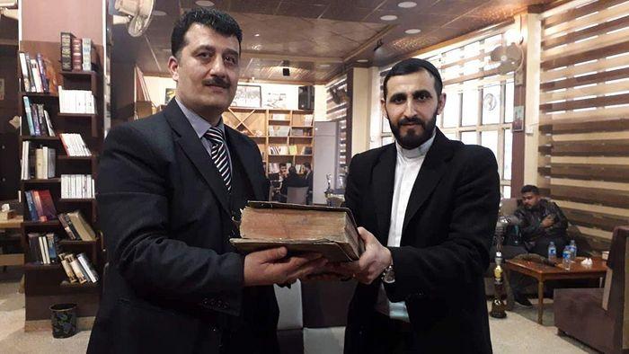 На севере Ирака нашли старинное рукописное Евангелие на греческом языке