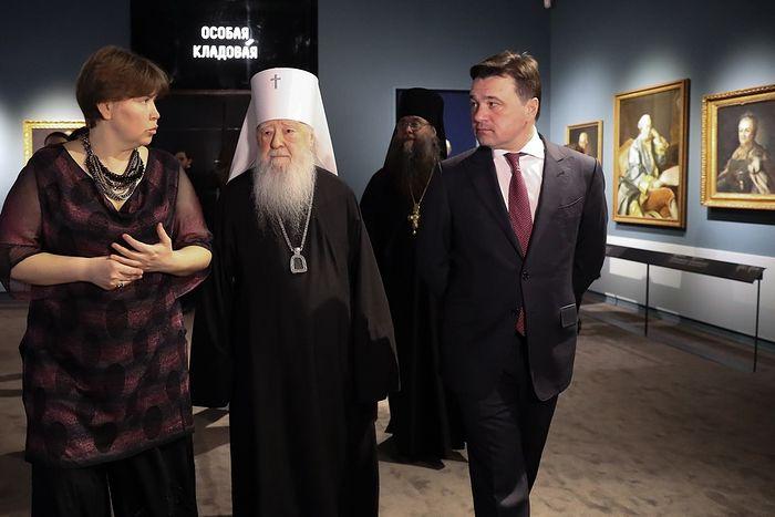 Открыта обновленная экспозиция «Русское искусство. Церковное и светское искусство» в музейно-выставочном комплексе «Новый Иерусалим»