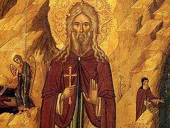 Venerable St. John the Clairvoyant, Anchorite of Egypt