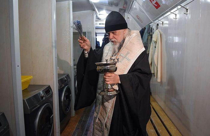 Служба «Милосердие» открыла в Москве прачечную для бездомных