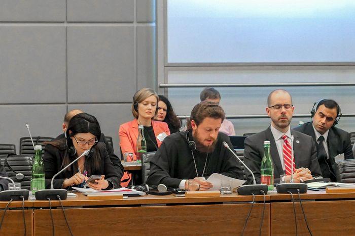 Епископ Барышевский Виктор сообщил о нарушении прав верующих Украинской Православной Церкви на совещании ОБСЕ