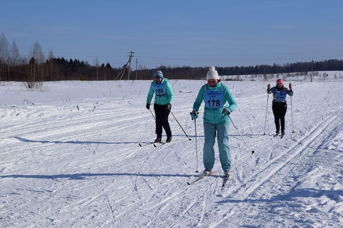 На лыжах. Марина Львовна Новикова - под номером 178
