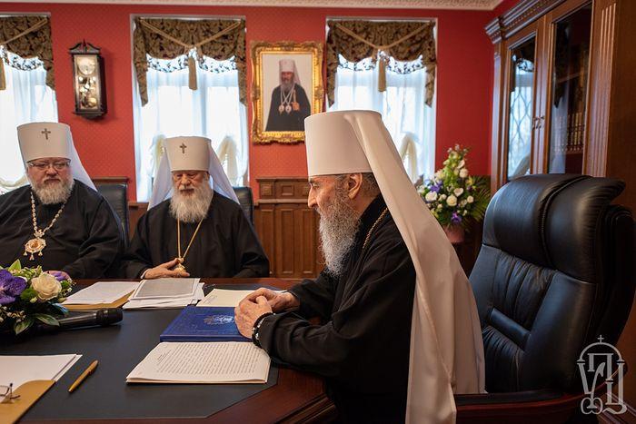 Заявление Священного Синода Украинской Православной Церкви о ситуации в украинском и мировом Православии