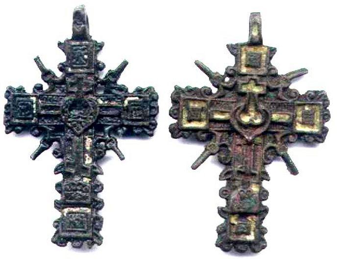 Процветшие и огненосные кресты XVII века