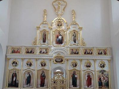 В соборе Енисейска завершен монтаж иконостаса