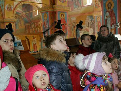 Чебаркульские экскурсоводы знакомят с Евангелием по фрескам