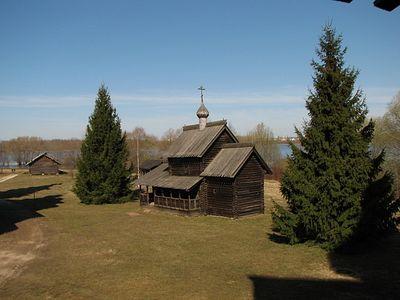 В Новгороде открылась выставка в честь 420-летия Успенской церкви из музея «Витославлицы»