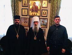 Православные верующие Черногории передали финансовую помощь общинам захваченных храмов Тернопольской епархии