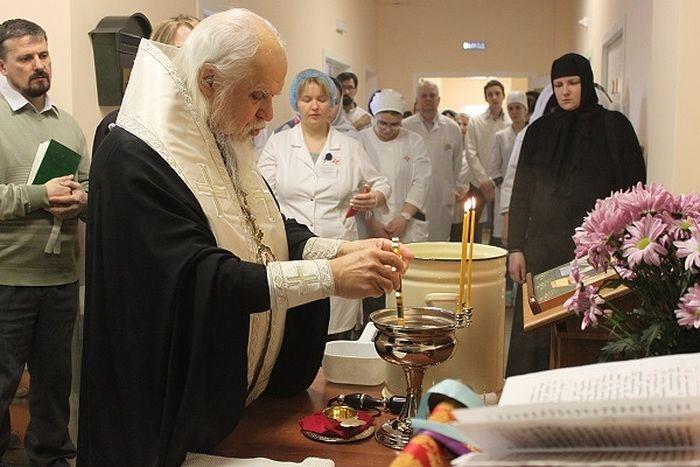 В больнице святителя Алексия открылось новое паллиативное отделение для тяжелобольных людей