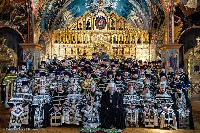 Клирики Восточно-Американской епархии РПЦЗ выразили поддержку канонической Украинской Православной Церкви