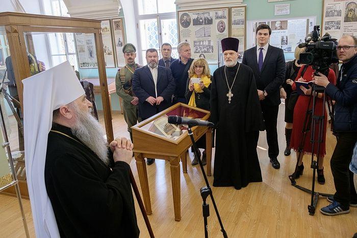 В Санкт-Петербурге открылась выставка «Духовенство в войнах Отечества»