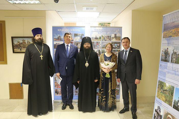В Совете Федерации открылась выставка «Русский Север»