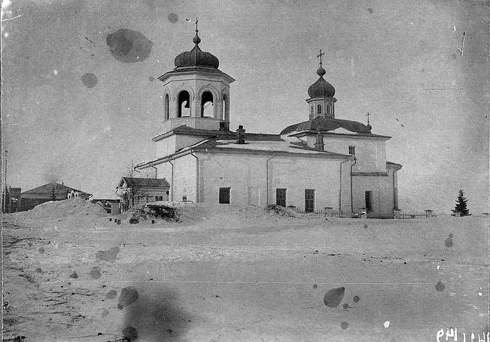 Воскресенский собор. 1914 год. И.Н. Шухов Западносибирское краеведение