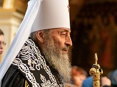Metropolitan Onuphry: We need repentance because only the pure can enter the Kingdom of Heaven