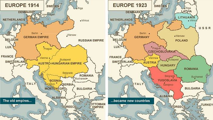 While they didn't form their own state, Rusyns who were previously in the Austro-Hungarian Empire gained freedoms in Czechoslovakia.