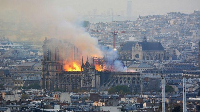 Послание Святейшего Патриарха Кирилла в связи с пожаром в соборе Парижской Богоматери